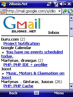 google mail mobile